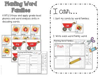 Bring on Spring!-Common Core Math and Literacy Activities 3