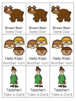 Brown Bear! Brown Bear! ABC Game ~ editable 2