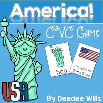 CVC Game: America Memory Match and FREEDOM! 1