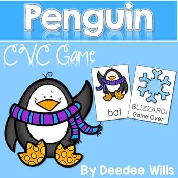 CVC Game: Penguin BLIZZARD! Game 1