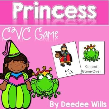 CVC Princesses Memory Match and Kissed! Game 1