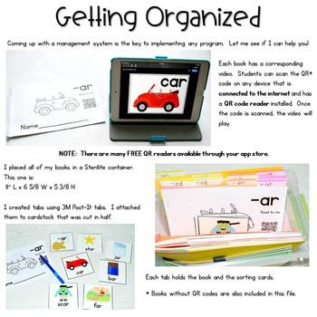 CVC Word Family Digital Library 2