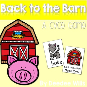 CVCe Game: Back to the Barn Memory Match 1