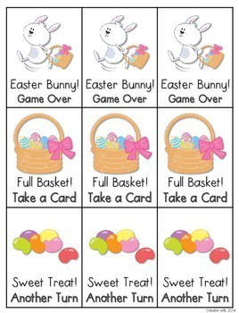 CVCe Word Game: Easter Bunny 4