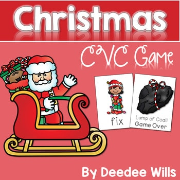 Christmas Time! A CVC Memory Match and Game 1