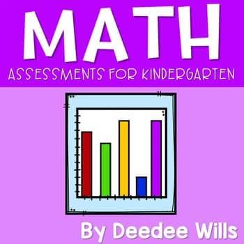 Common Core Assessment Pack for Kindergarten- Math 1