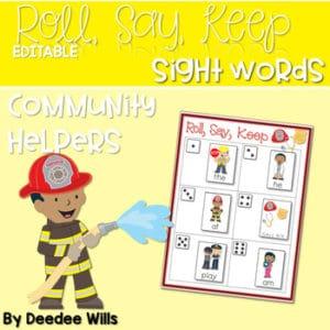Sight Word Fluency Fall 5