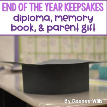 End of the Year Memory Book 1