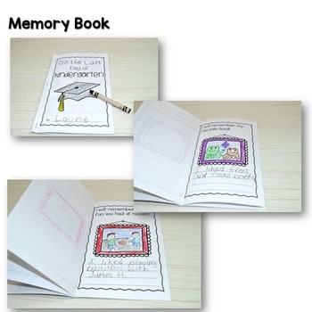 End of the Year Memory Book 3