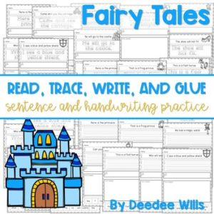 Farm Read, Trace, Glue, and Draw 7