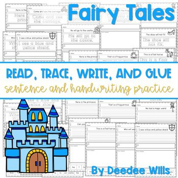 Fairy Tales: Read, Trace, Glue, and Draw 1