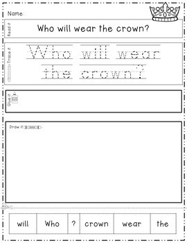 Fairy Tales: Read, Trace, Glue, and Draw 3