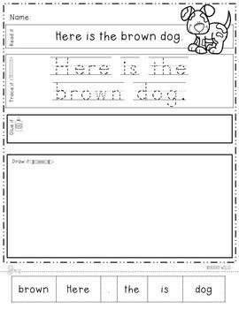 Farm Read, Trace, Glue, and Draw 4