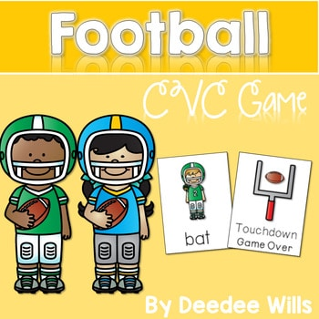 Football! A CVC Memory Match and Game 1