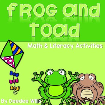 Frog and Toad Activities for Math and Literacy-CC Aligned 1