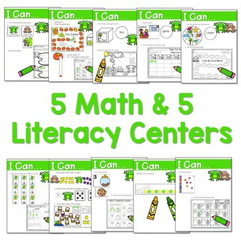 Frog and Toad Activities for Math and Literacy-CC Aligned 2