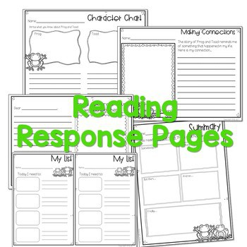 Frog and Toad Activities for Math and Literacy-CC Aligned 3