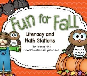 Fall Fun ABC Memory and Game ~ Editable 7