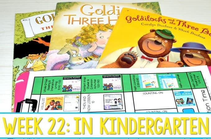 Goldilocks And The Three Bears Lesson Plans For Kindergarten First Grade