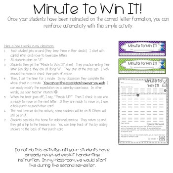 Handwriting - Make It Neat! Handwriting Practice, Instruction, and Fluency 3