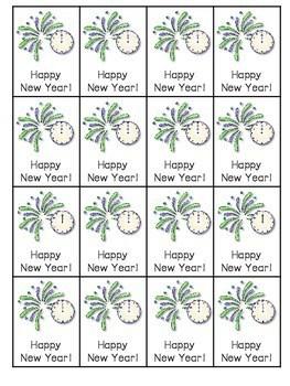 Happy New Year Roll, Say, Keep-editable 4