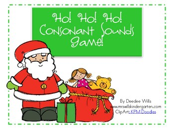 Ho! Ho! Ho! Initial Sounds Game! 1