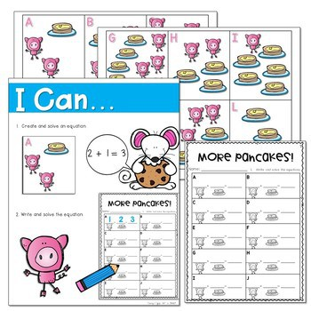 If You Give a Mouse a Cookie... Literacy and Math Stations 4