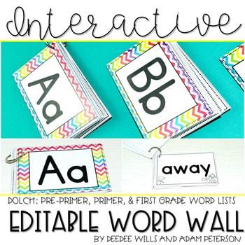 Interactive Word Wall (editable) 1