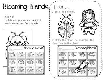 Kindergarten Centers: Black Ink ONLY The COMPLETE BUNDLE 4