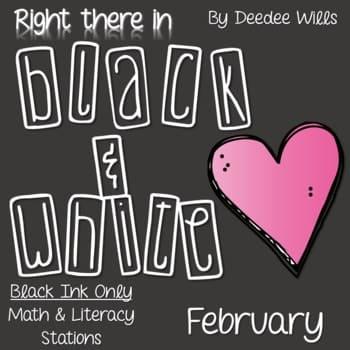 Kindergarten Centers: Black ink ONLY for February 1
