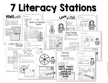 Kindergarten Centers: Black ink ONLY for February 2