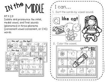 Kindergarten Centers: Black ink ONLY for January 4