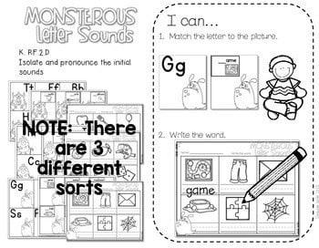 Kindergarten Centers: Black ink ONLY for October 4