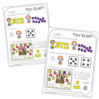Kindergarten Math Centers ~ Apples 4