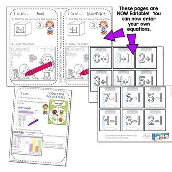 Kindergarten Math Centers ~ Bugs! 2