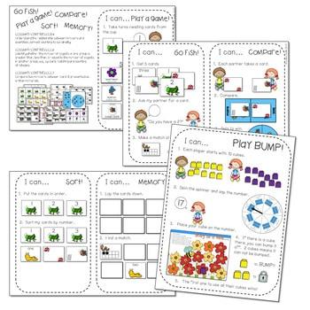 Kindergarten Math Centers ~ Bugs! 3