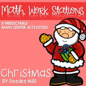 Math and Literacy Center for February 8
