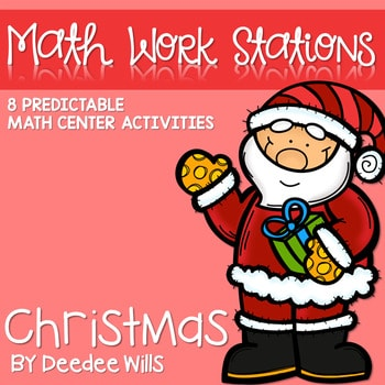 Kindergarten Math Centers ~ Christmas 1