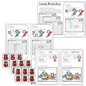 Kindergarten Math Centers ~ Christmas 3