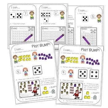 Kindergarten Math Centers ~ Christmas 4