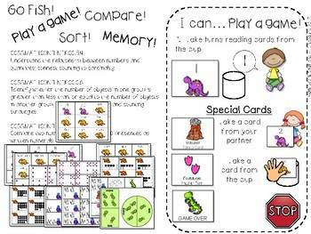Kindergarten Math Centers~ Dinosaurs 3