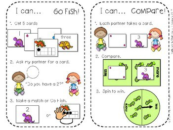 Kindergarten Math Centers~ Dinosaurs 4