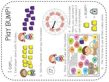 Kindergarten Math Centers ~ Easter CCSS 2