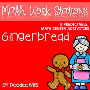 Gingerbread Man | Literacy Centers and Math Centers 8