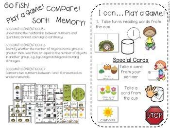 Kindergarten Math Centers ~ Nocturnal & Hibernating Animals 3