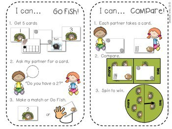 Kindergarten Math Centers ~ Nocturnal & Hibernating Animals 4