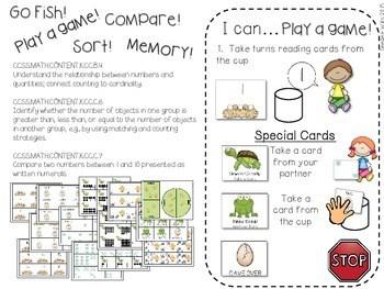 Kindergarten Math Centers ~ Oviparous CCSS 3