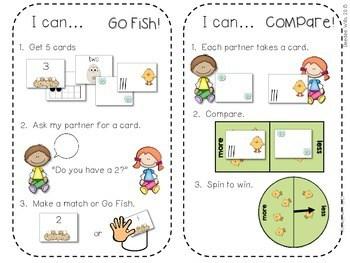 Kindergarten Math Centers ~ Oviparous CCSS 4