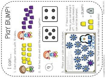 Kindergarten Math Centers ~ Penguins CCSS 2