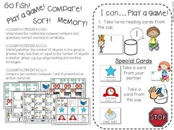 Kindergarten Math Centers ~ Reading Week CCSS 3